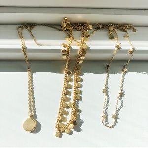 madewell necklaces bundle